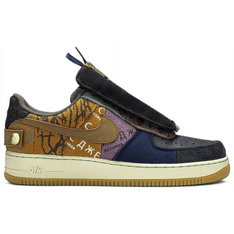 Air Force 1 Low Travis Scott Cactus Jack - After Burn