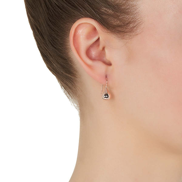 Baby Tears Earring Rose