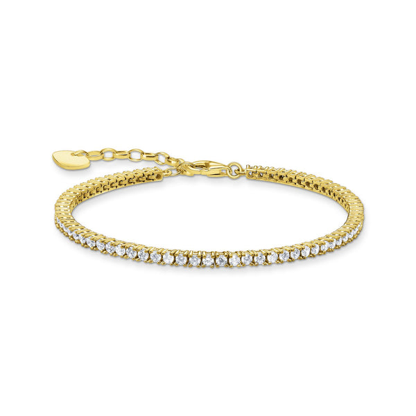 Thomas Sabo Tennis Bracelet Gold
