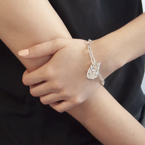 Najo Sterling Silver Lady Luck Bracelet