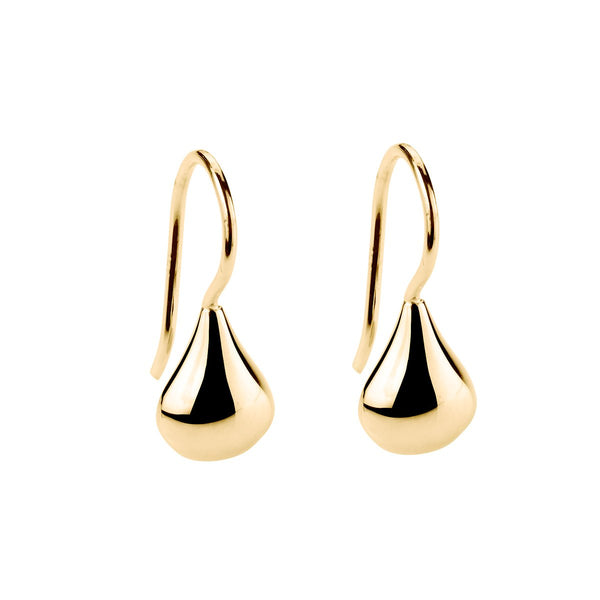 Najo Baby Tears Earrings Yellow Gold