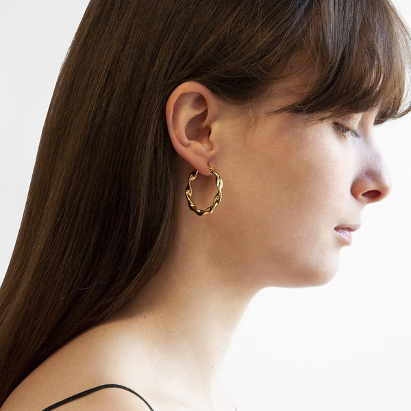 Najo Alicia Earrings Yellow Gold
