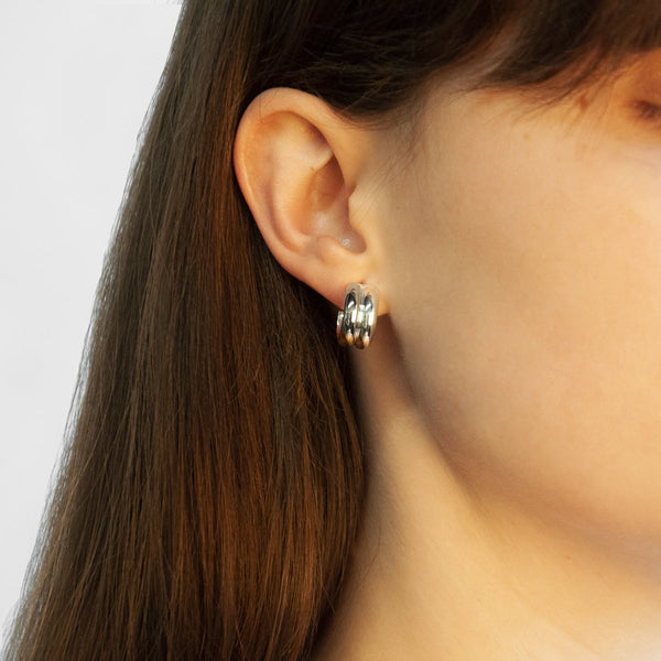 Najo Duality Stud Earrings