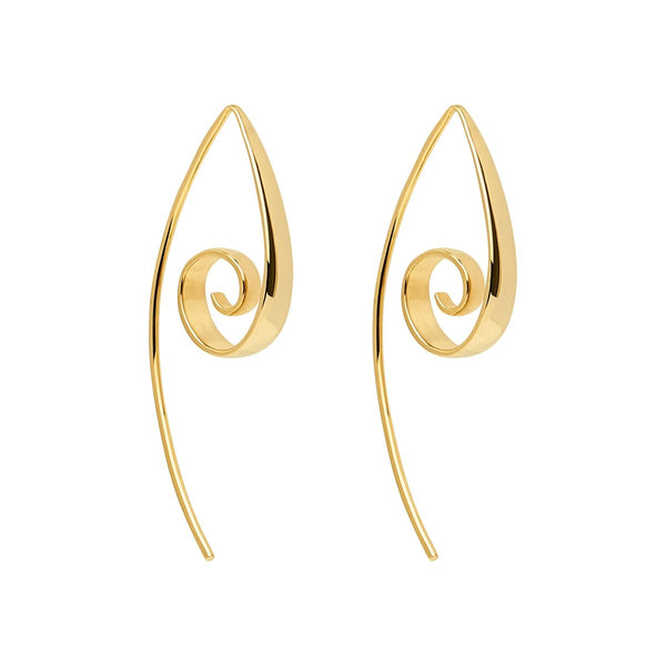 Najo Bobo Gold Earrings