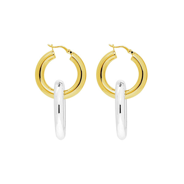 Najo Rollo Hoop Earrings