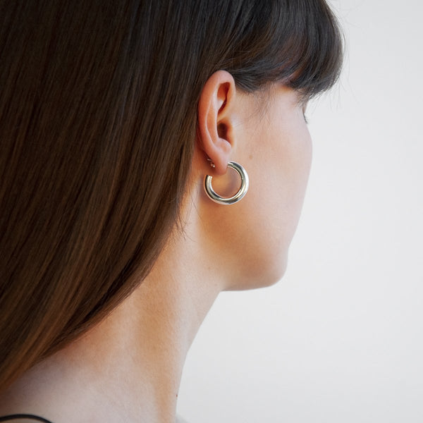 Najo Mama Stud Hoop Earrings