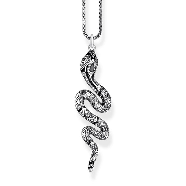 Thomas Sabo Necklace Snake Silver