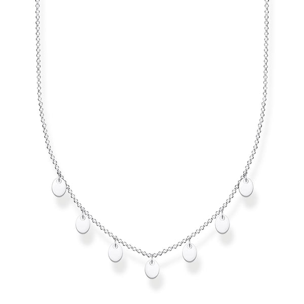 Thomas Sabo Necklace With Discs Silver