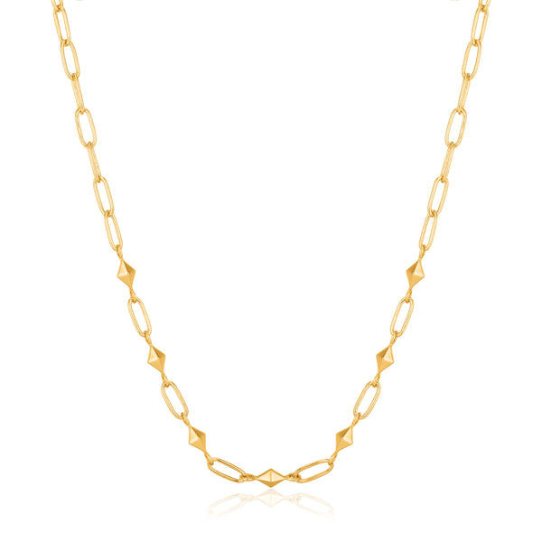 Ania Haie Gold Heavy Spike Necklace