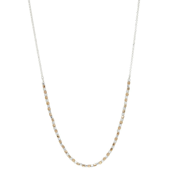 Najo Golden Pretty Pebble Necklace