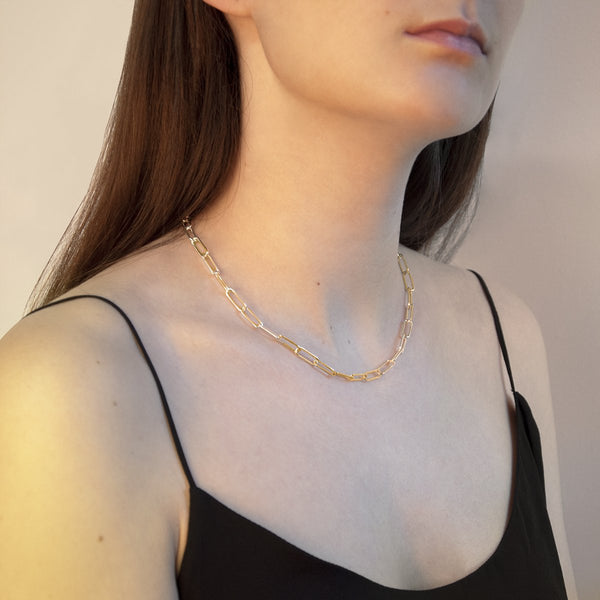 Najo Vista Gold Chain Necklace