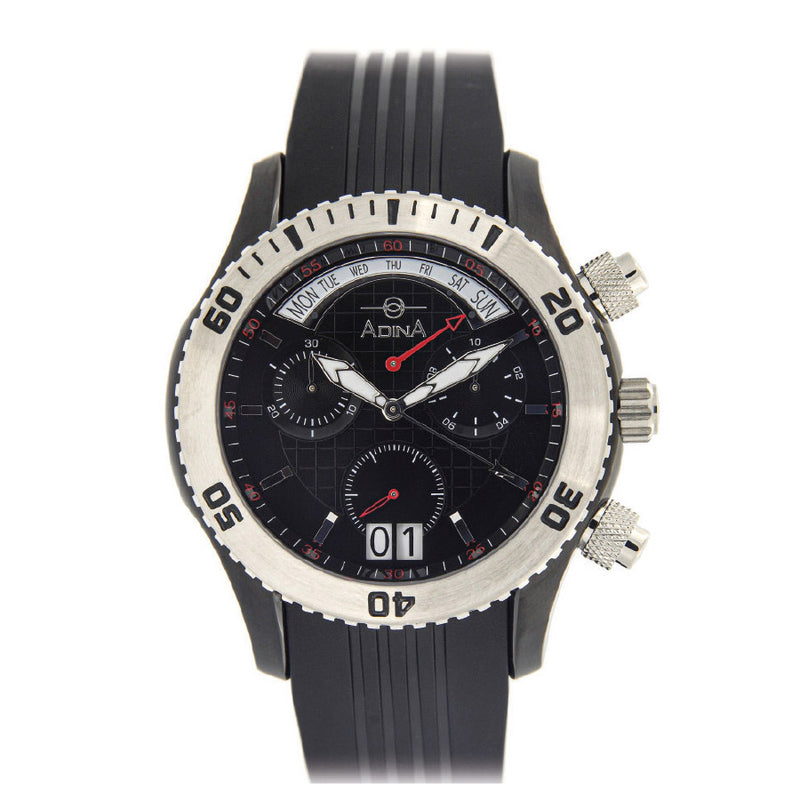 Adina Amphibian Dive Watch Nk156 B2Xs Retrograde
