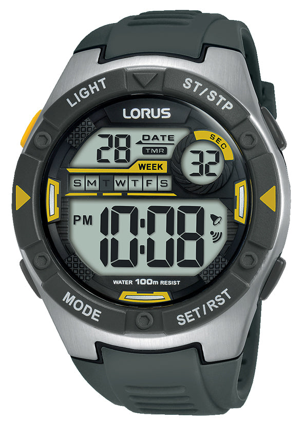 Mens Lorus 100m Digital Watch