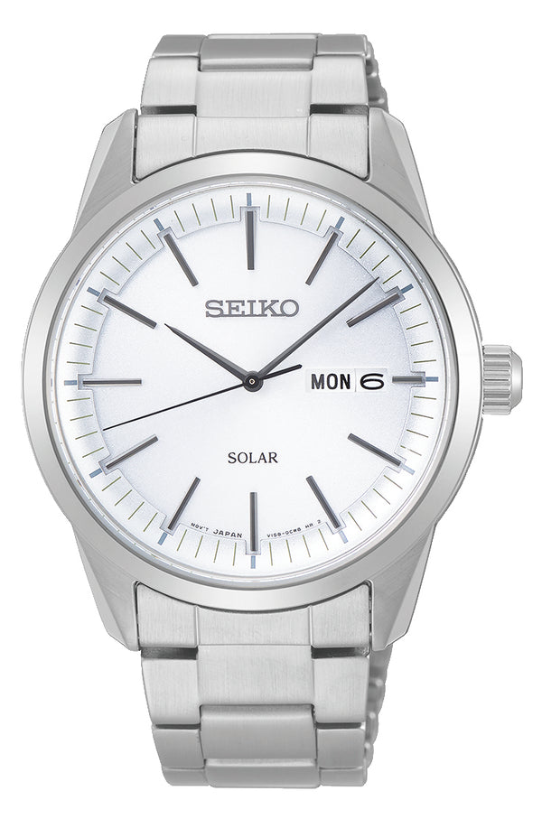 Gents Seiko Solar 100m Watch