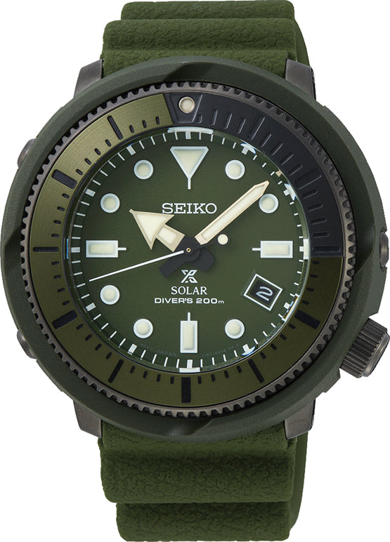 Gents Seiko Prospex Solar Divers Watch