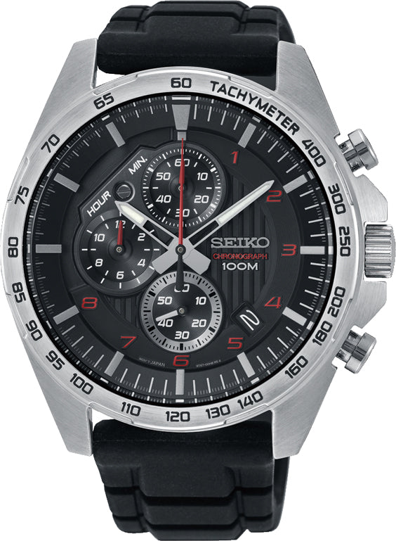 Gents Seiko Chronograph 100m Watch