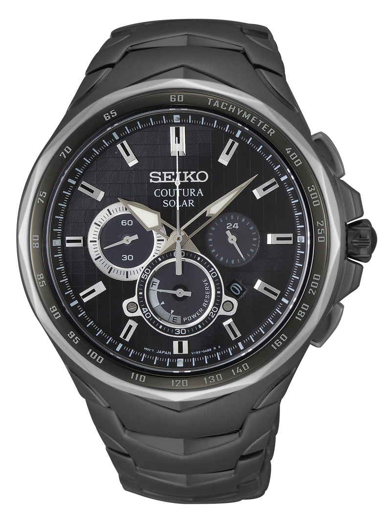 Gents Seiko Coutura Solar Chronograph Watch