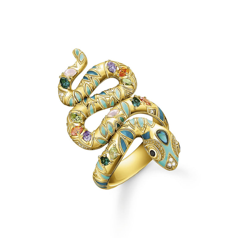 Thomas Sabo Ring Snake Gold