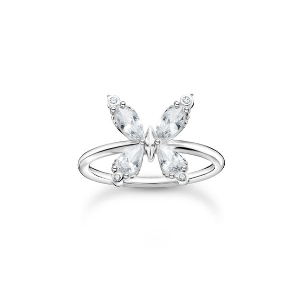 Thomas Sabo Ring Butterfly Silver