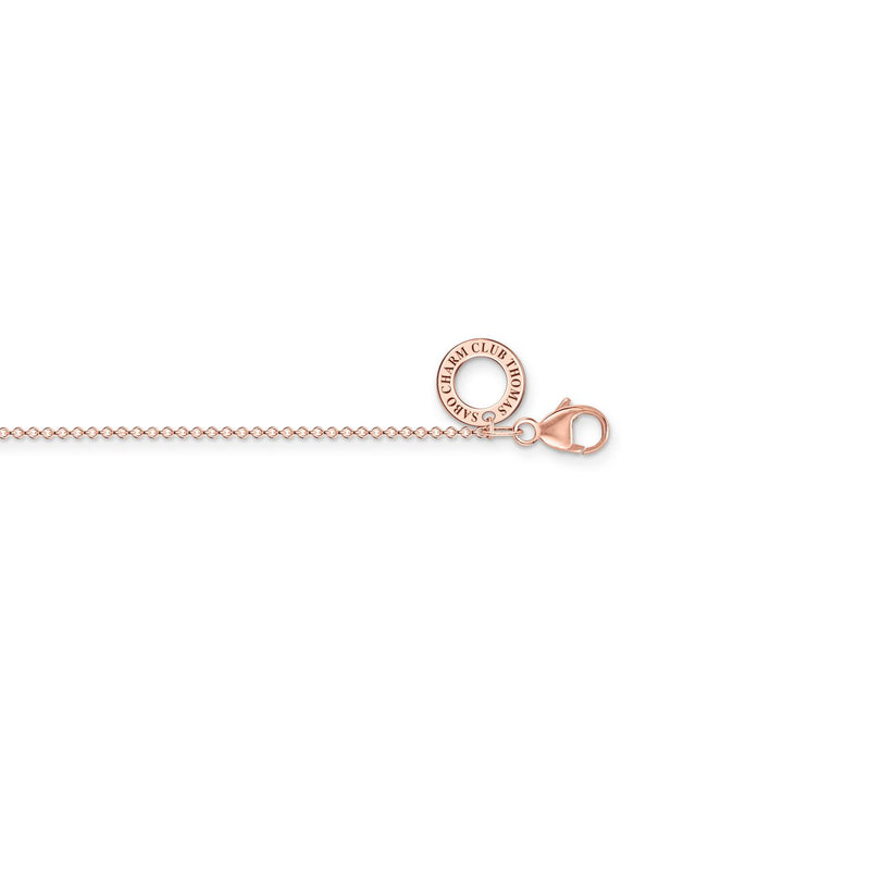 Thomas Sabo Charm Necklace Rose Gold