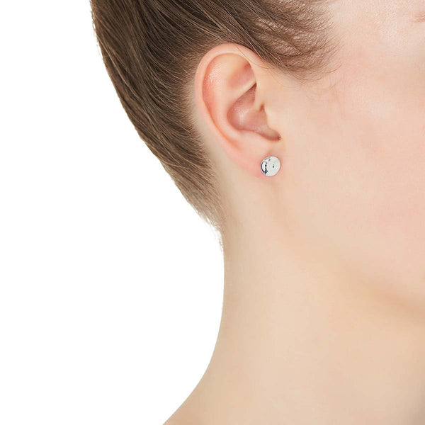 Double Beat Stud Earring