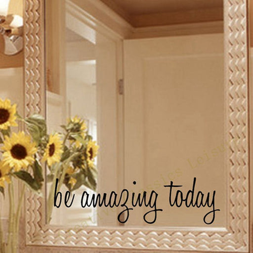 Inspirational Mirror Decal