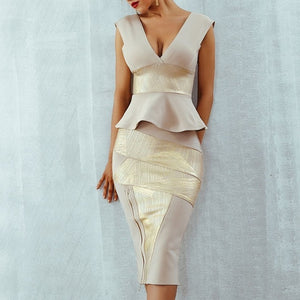 Celebrity Party Bodycon Bandage Dress
