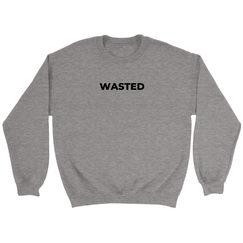 WASTED Crewneck Sweatshirt