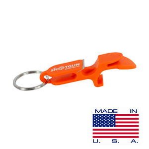 Orange Shotgun Key Chain