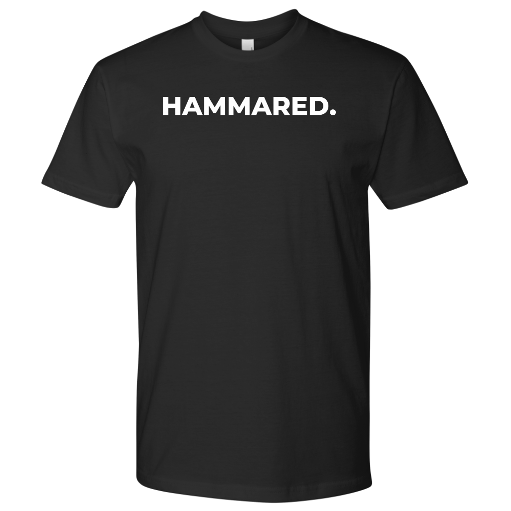 Hammared w Logo T Shirt