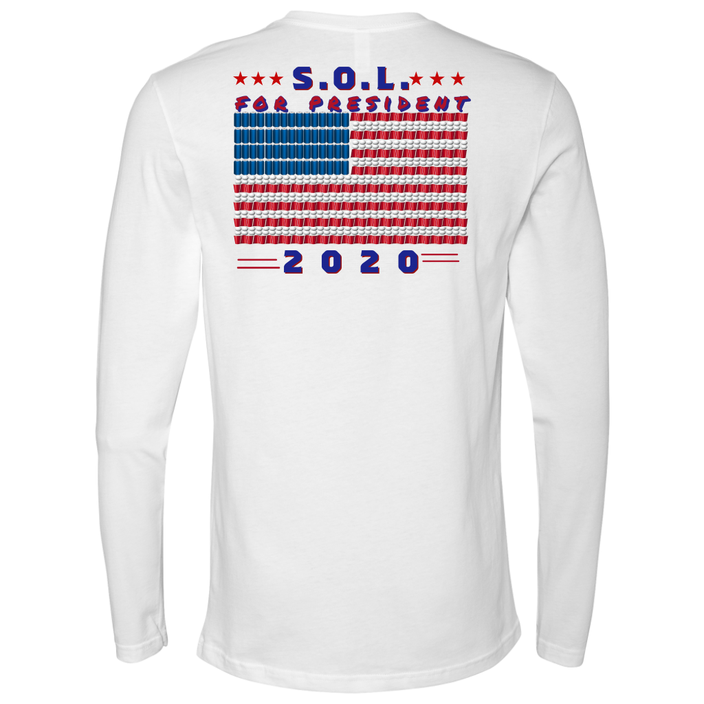 S.O.L. Presidential Long Sleeve (Image On Back)