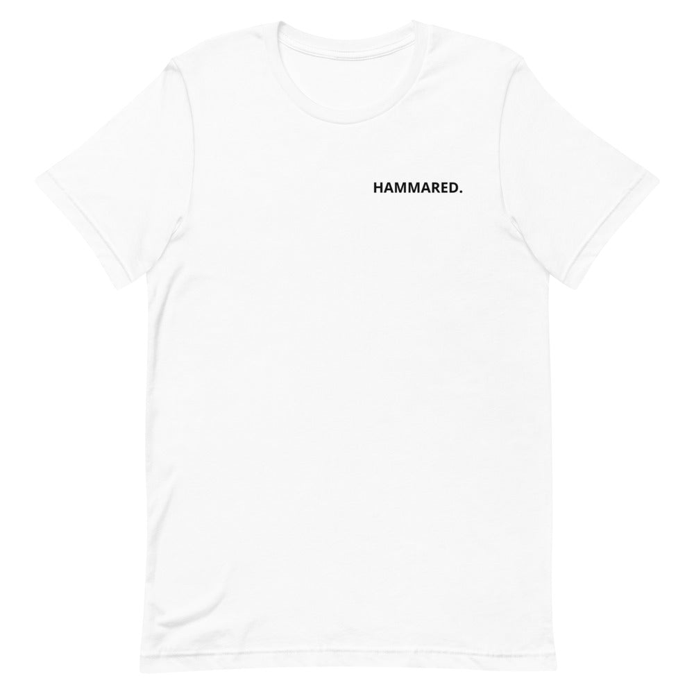 Hammared (chest print) T-Shirt