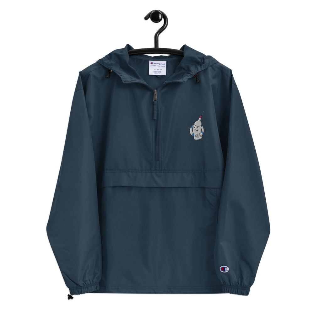 S.O.L. Embroidered Champion Packable Jacket