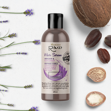 Load image into Gallery viewer, Lavender Hair Serum with Argan and Coconut Oil 125ml