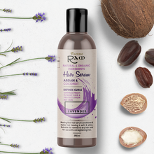Load image into Gallery viewer, Lavender Hair Serum with Argan and Coconut Oil 250ml