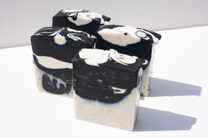 Activated Charcoal with  Zinc, Green & White Clay