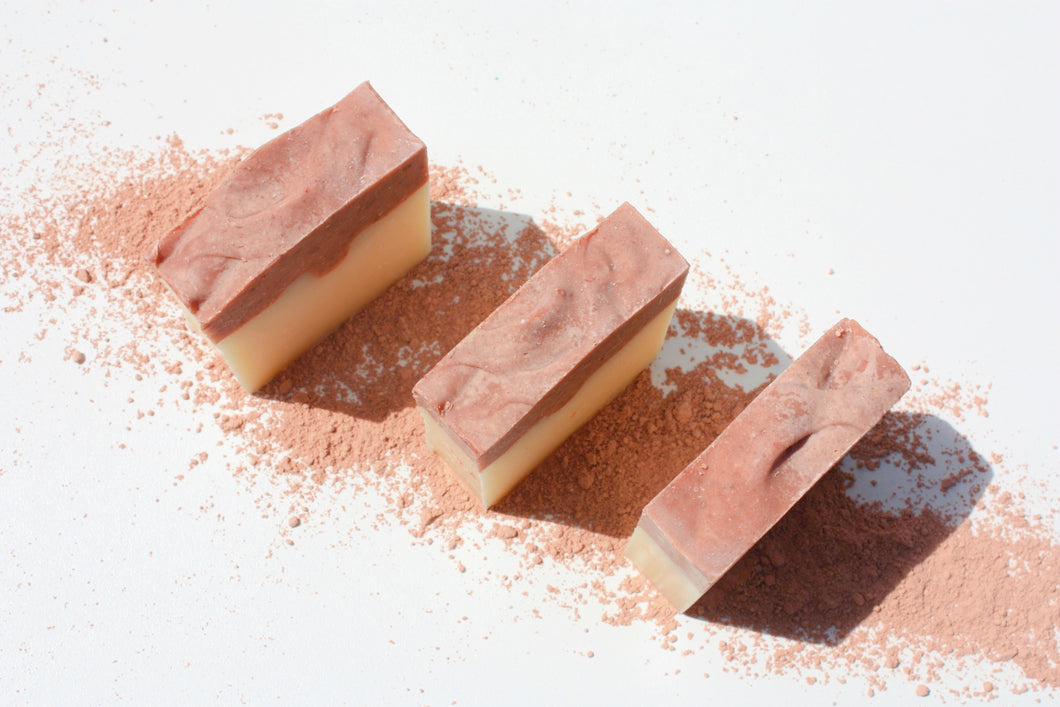 Patchouli, Bergamot & Lime with Pink Clay