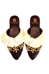 ISABELLY BLACK SLIPPERS