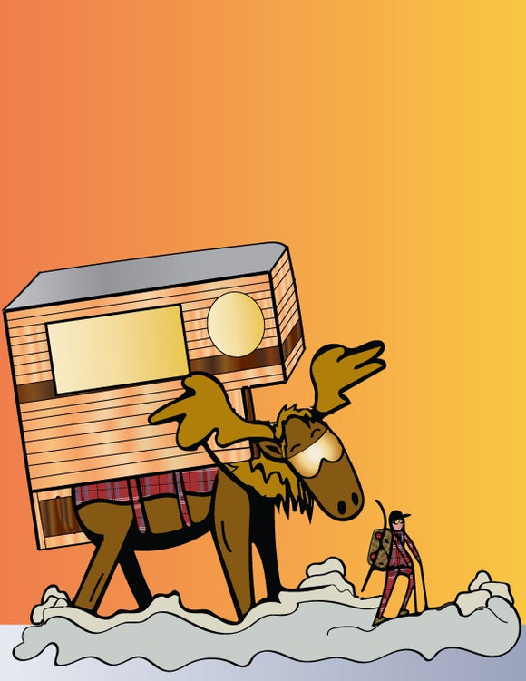 Sunset Moose Camper