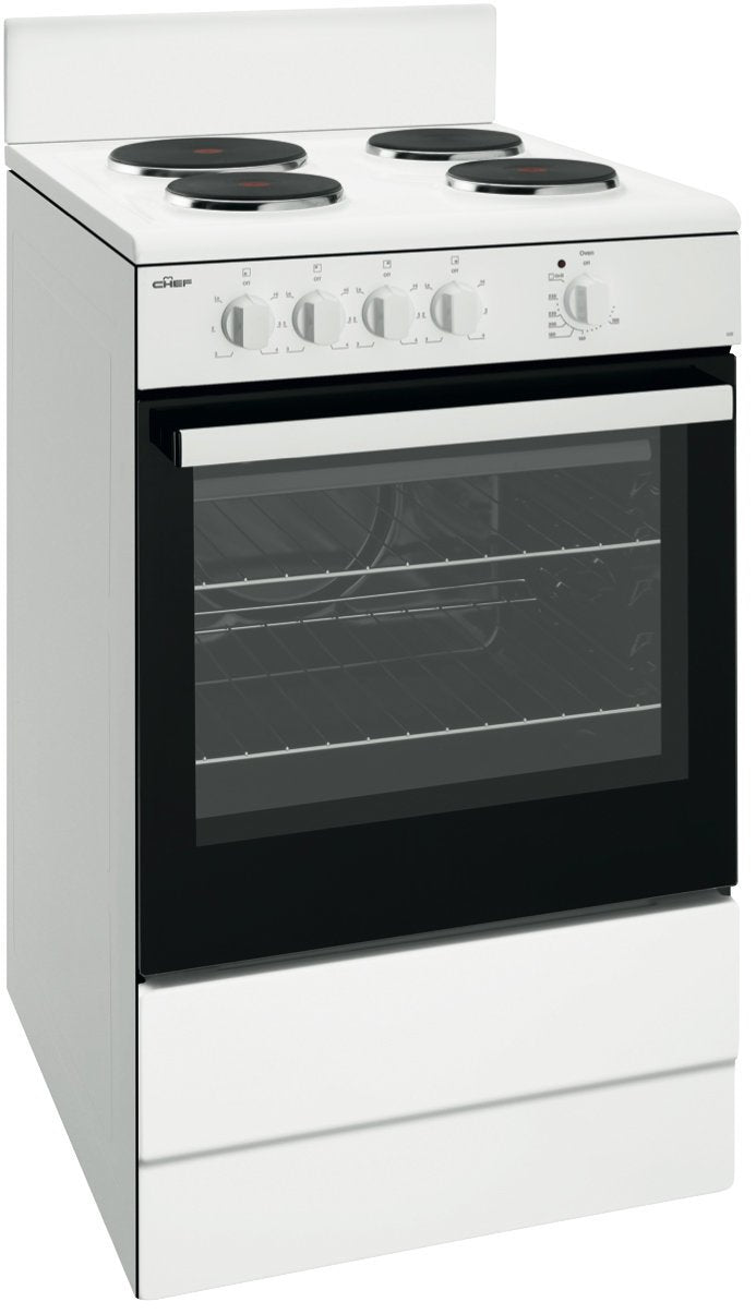 Chef 54cm Freestanding Electric Oven/Stove - Brisbane Home Appliances