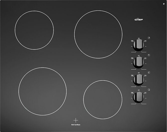Chef 60cm Ceramic Cooktop - Brisbane Home Appliances