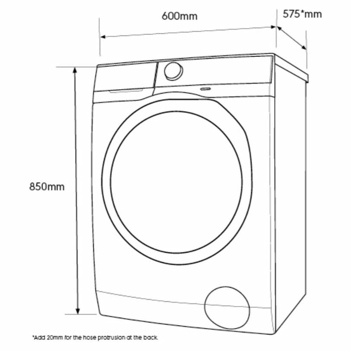 Electrolux Washer Dryer Combo 7.5 KG/4.5 KG - Brisbane Home Appliances