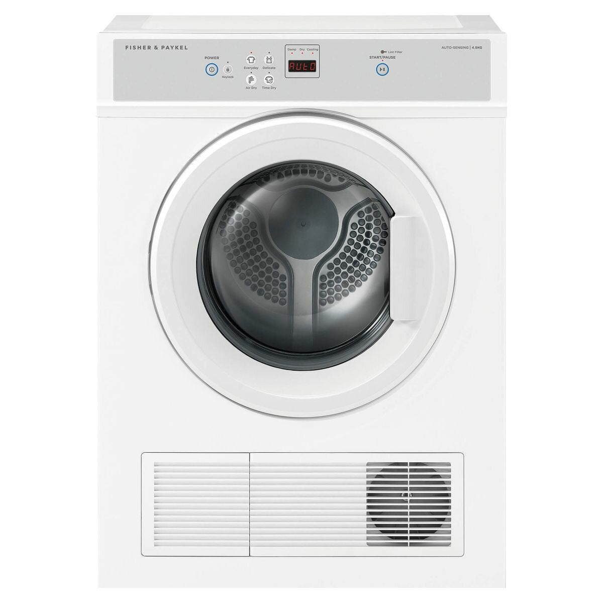 Fisher & Paykel Auto Vented Dryer 4.5 KG - Brisbane Home Appliances