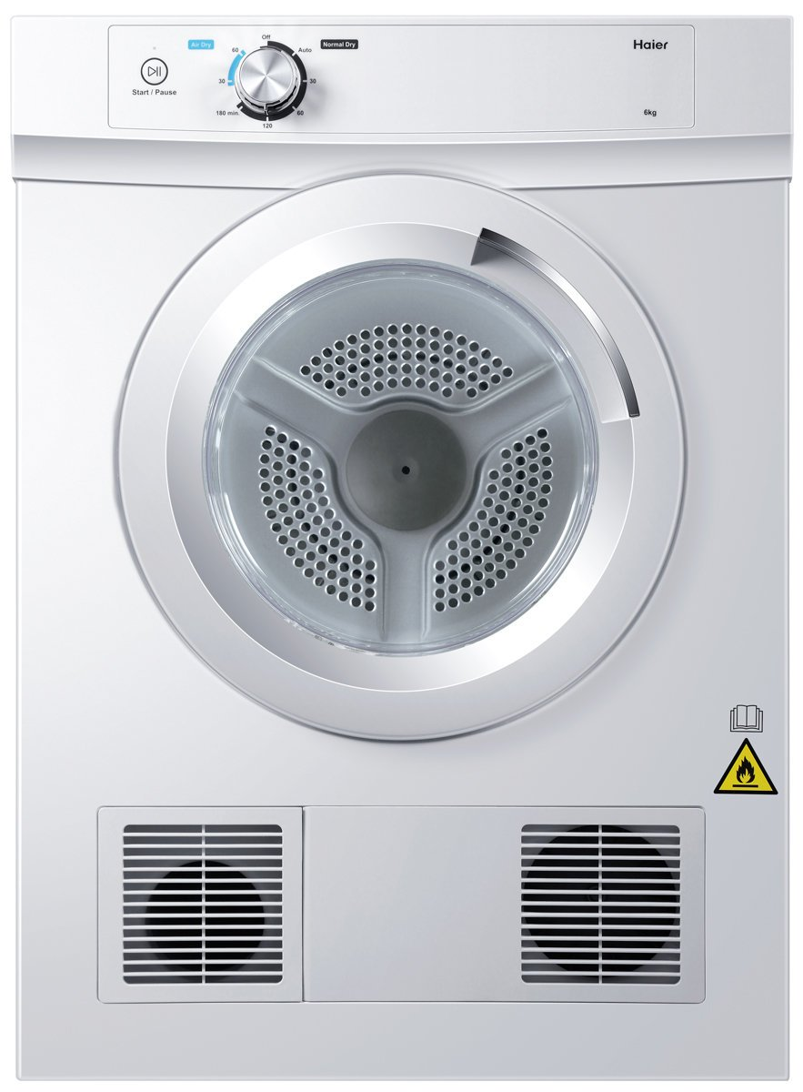 Haier Vented Dryer 6 kg - Brisbane Home Appliances