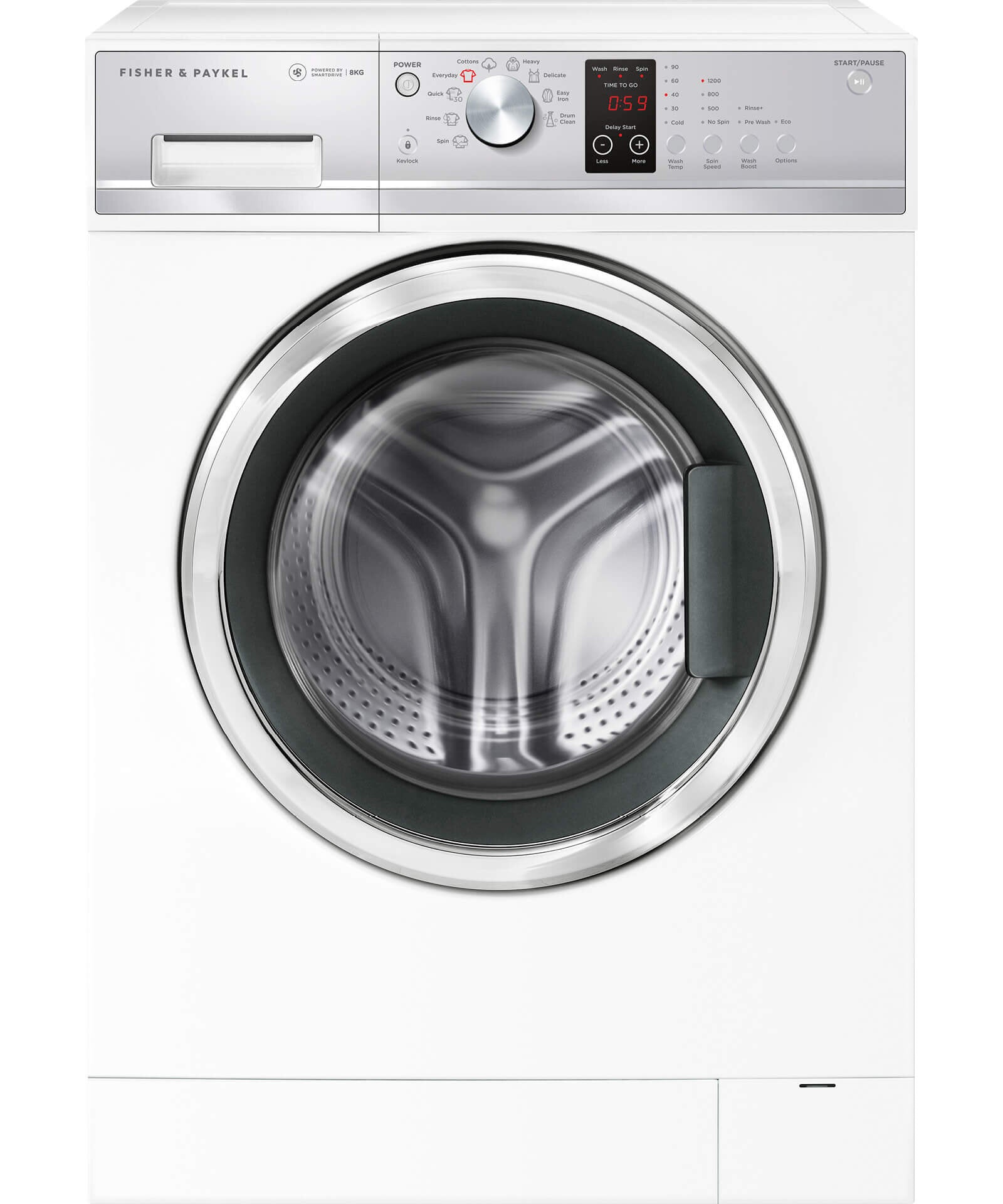Fisher & Paykel Front Loader Washing Machine 8 kg - Brisbane Home Appliances