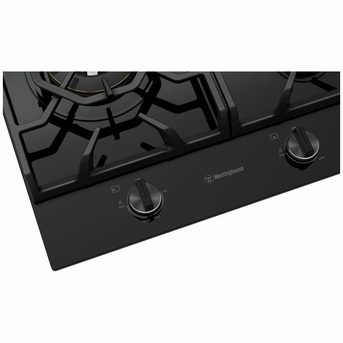 Westinghouse 90cm 5 Burner Natural Gas Cooktop - Brisbane Home Appliances