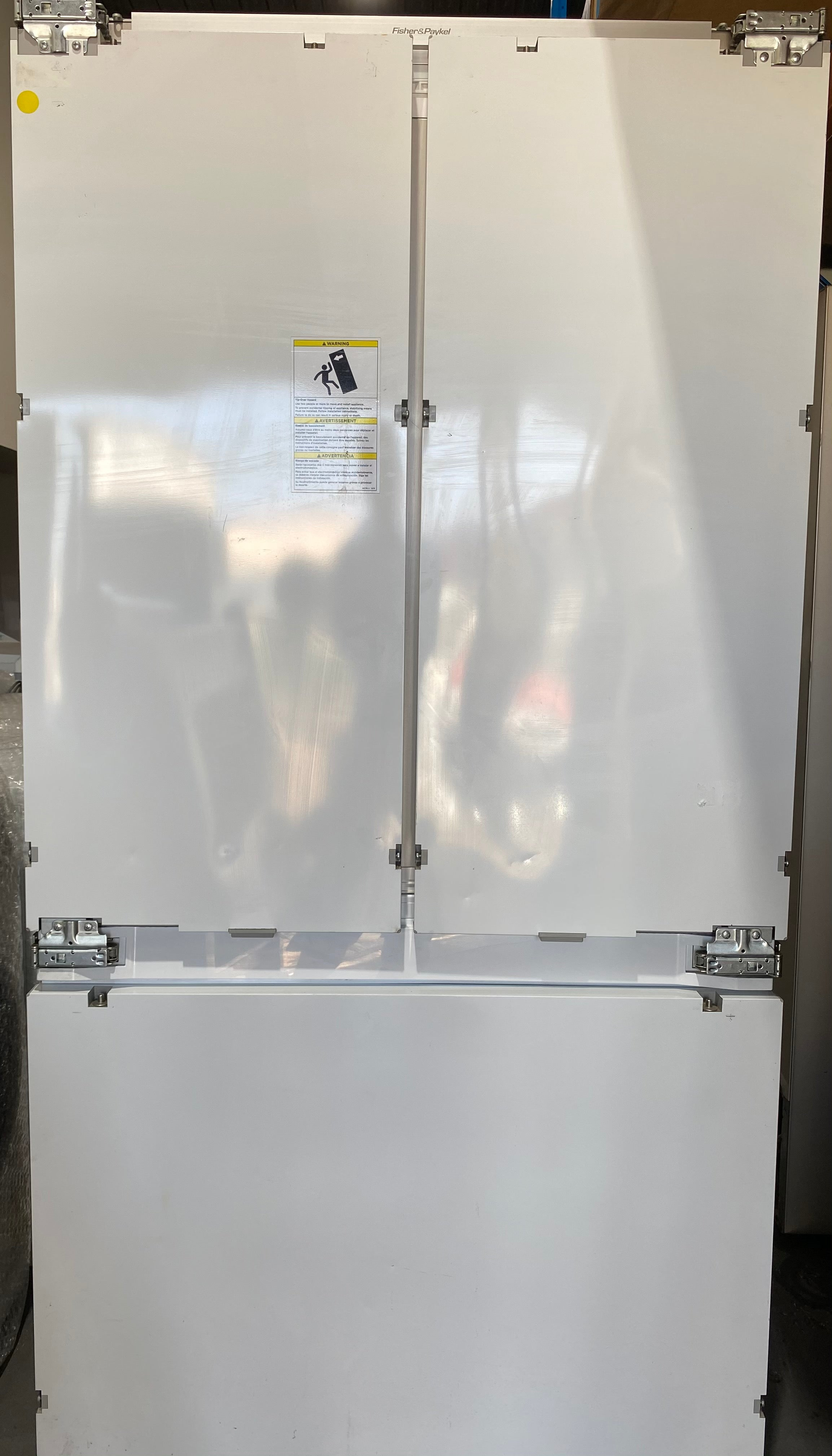 Fisher & Paykel 525L Integrated French Door Fridge (90 cm) - Brisbane Home Appliances