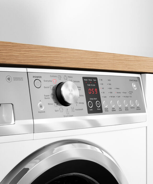 Fisher & Paykel Front Load Washer 8.5 kg - Brisbane Home Appliances