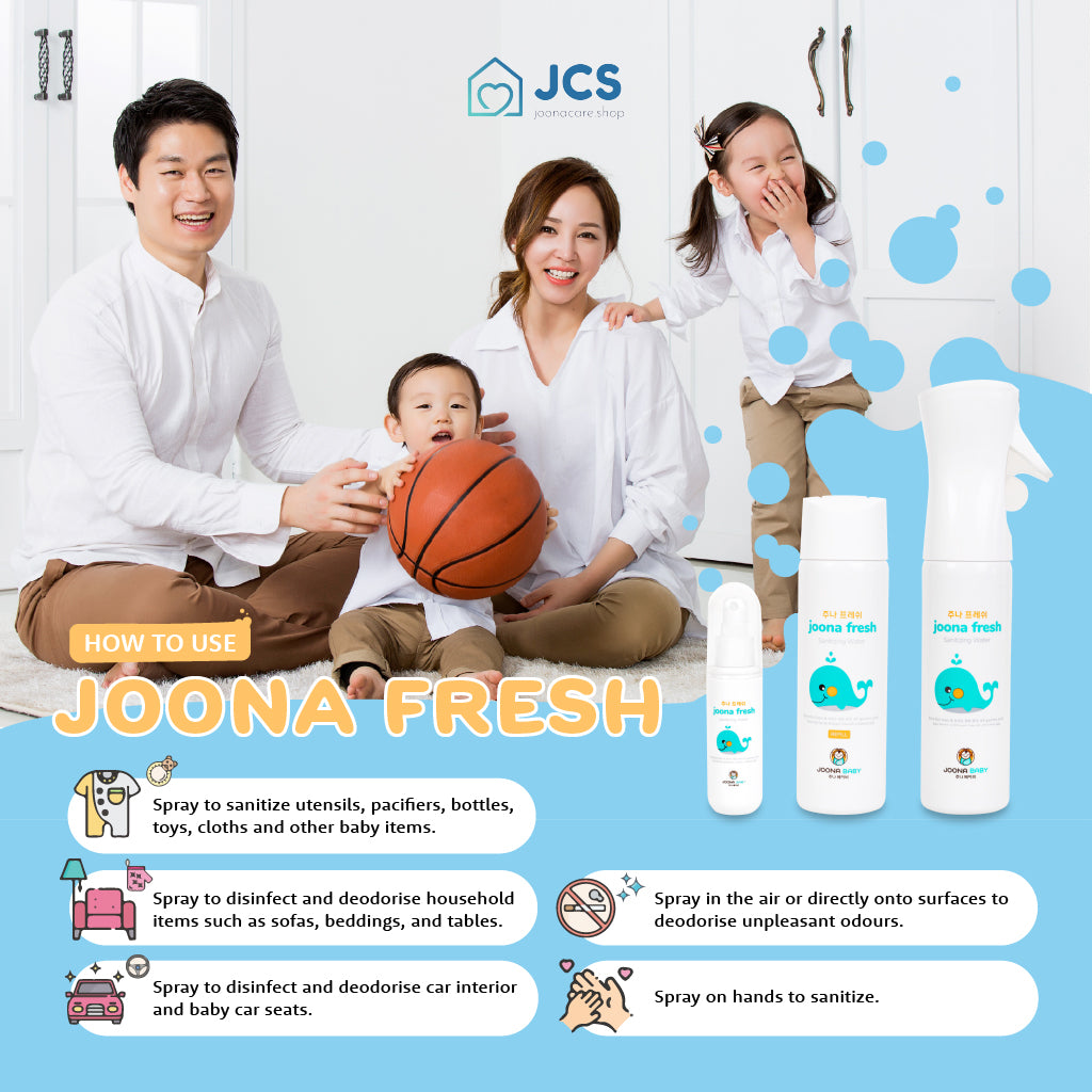 Joona Fresh Spray (300ml) - Dual Pack with Refill - JoonaCare.Shop