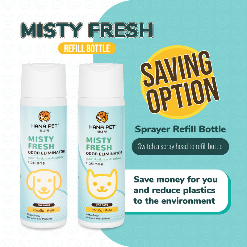 Misty Fresh (For Dogs) Odor Eliminator Refill 300ml - JoonaCare.Shop